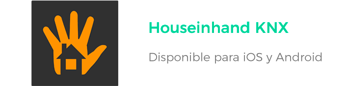 Houseinhand KNX - Apps de ahorro