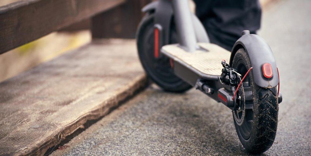 Movilidad urbana en patinete eléctrico