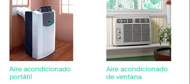 Lucera-Elegir un aire acondicionado portatil vs de ventana