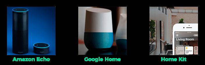 Smart home - Asistentes de voz
