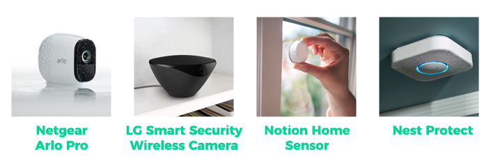 Smart home - Seguridad y detectores