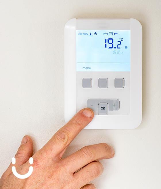 Temperatura del termostato